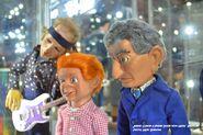 Jimmy Gibson & Friend Zarin Puppets