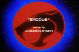 Exodus Title Screen