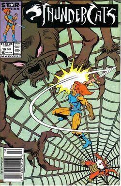 Thundercat comic US 16