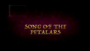 Song of the Petalars Title Card