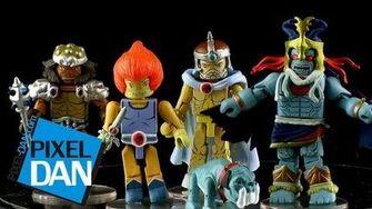 Icon Heroes ThunderCats MiniMates Series 4 Video Review