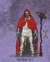 Mattel Mumm-Ra Illustration