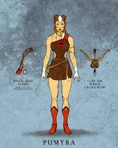 Mattel Pumyra Illustration