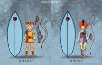 Mattel Thunderkittens Concept Art