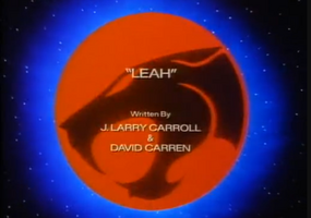 Leah - Title Card