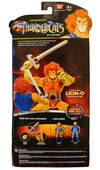 Bandai Classic Lion-O 8 inches STGCC Box back