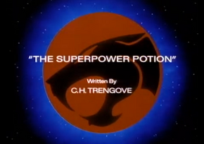 The Superpower Potion - Title Card