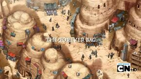 The Forever Bag Title Card