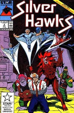 SilverHawks (Star Comics) - Issue 2