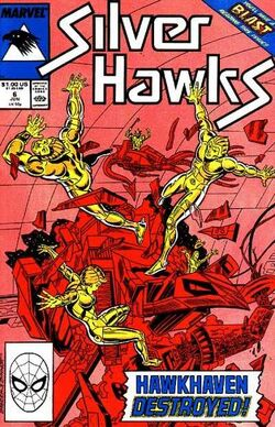 SilverHawks (Star Comics) - Issue 6