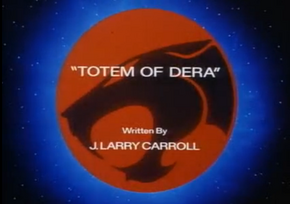 Totem of Dera - Title Card