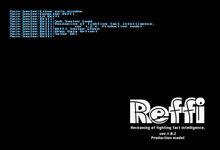 Start up screen of REFFI