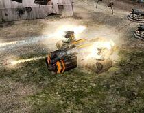 TE Battle Base attack