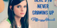 Here's To Never Growing Up (cover)