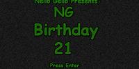 NG Birthday 21