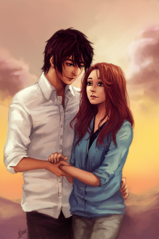 File:Ren and Kelsey by wernozaur.png