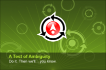 A Test of Ambiguity
