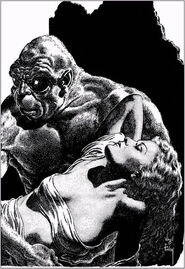 Virgil Finlay The Time Machine