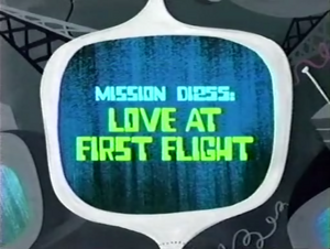 Love at First Flight Titlecard