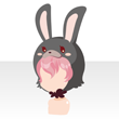 Rabbit head red