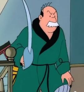 Colonel Barker Tintin