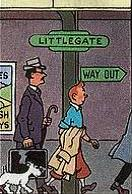 Littlegate railway station french
