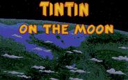 Tintin on the Moon titlescreen