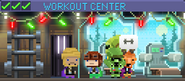 Decorated Workout Center