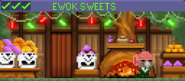Decorated Ewok Sweets