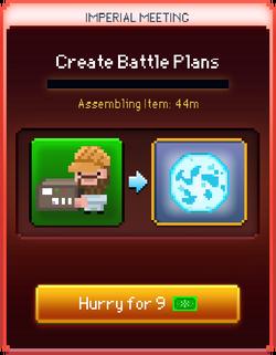Battle Plans start