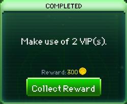Mission VIP complete
