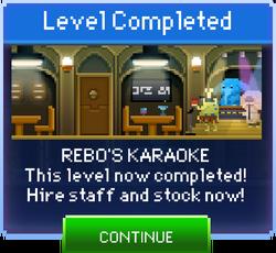 Message Rebo's Karaoke Complete