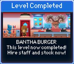 Message Bantha Burger Complete