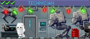 Decorated Technician