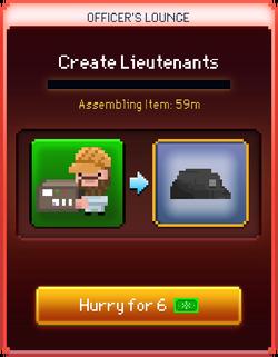 Lieutenants start
