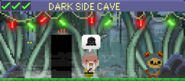 Decorated Dark Side Cave
