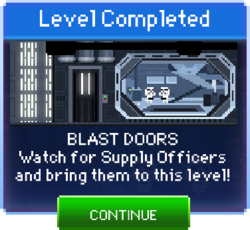 Message Blast Doors Complete