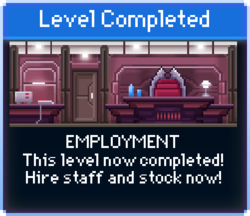 Message Employment Complete