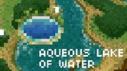 Aqueouslakeofwater