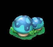 Decoration 1x1 mushrooms blue tn@2x