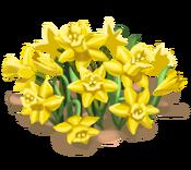 Decoration 1x1 flowergarden yellow tn@2x