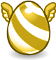 Golden Independence Egg