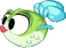 Monster puffmonster mythic baby