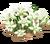 Decoration 1x1 flowergarden white tn@2x