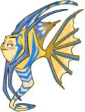 Monster aquaraymonster mythic adult