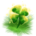 Decoration 1x1 four leaf clover@2x