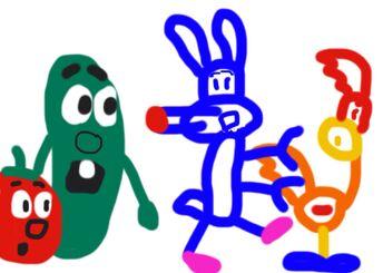 Tiny Toon Adventures VeggieTales parody
