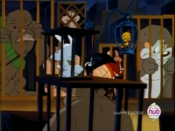 File:Tweety Bird in a Cage (With other pop culture reference).png
