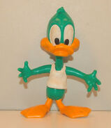 Plucky Duck Bendable toy