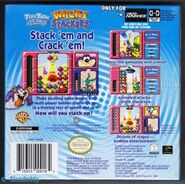 Back cover of wacky stacker